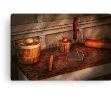 Chef - Food - Equipment for making Latkes Canvas Print