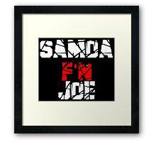 Samoa F'N Joe Framed Print