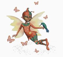 Cute Pixie Fae .. tee shirt by LoneAngel