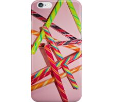 candy stripes iPhone Case/Skin