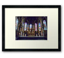 St Maurice Church Lille  Framed Print
