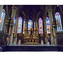 St Maurice Church Lille  Photographic Print
