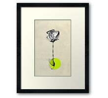 Green Monday Framed Print