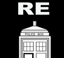 You are retardis! Sticker