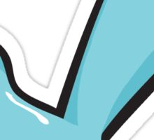 Little Blue Renn Wren Sticker
