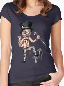 Not so mad (Alice collaboration) Women's Fitted Scoop T-Shirt