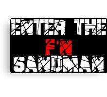 Enter the F'N Sandman Canvas Print