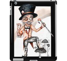 Not so mad (Alice collaboration) iPad Case/Skin
