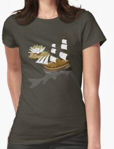 The wandering dutch. Womens Fitted T-Shirt
