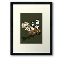 The wandering dutch. Framed Print