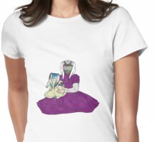 shocking good doll Womens Fitted T-Shirt