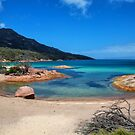 Freycinet bay by Liz Percival