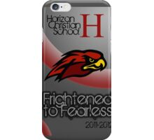 Frightened to Fearless iPhone Case/Skin