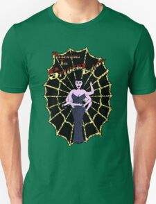 Spider Lady's Web (Stickers and Light Shirts) T-Shirt