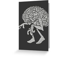 Braindead. Greeting Card