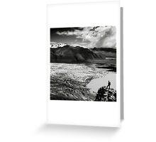 Iceland: Skaftafellsjokull Greeting Card