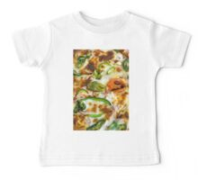 Pizza Topping Close Up Baby Tee