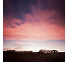 Iceland: Plane Wreck Photographic Print