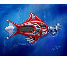 Screwy Fish Photographic Print