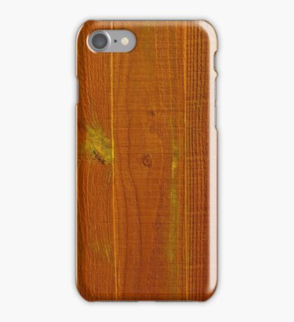 Wood Panel Fence Texture iPhone Case/Skin