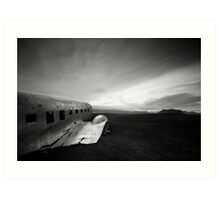 Iceland: Plane Wreck II Art Print