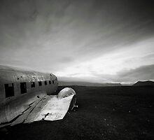 Iceland: Plane Wreck II by Nina Papiorek