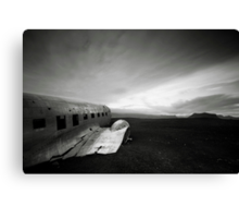 Iceland: Plane Wreck II Canvas Print