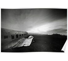 Iceland: Plane Wreck II Poster