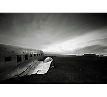 Iceland: Plane Wreck II Photographic Print