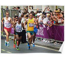 Olympic Marathon London 2012 Poster