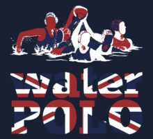 Water Polo Great Britain 2012 One Piece - Short Sleeve