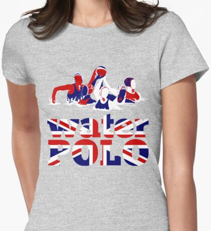 Water Polo Great Britain 2012 Womens Fitted T-Shirt