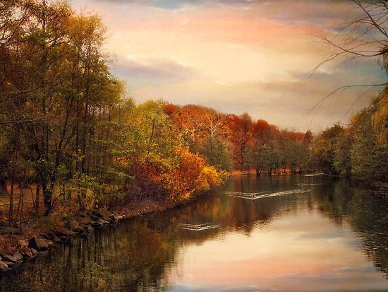 Sunset Pond by Jessica Jenney