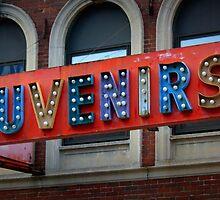 Souvenirs Old Timey Signage  by Amanda Vontobel Photography/Random Fandom Stuff