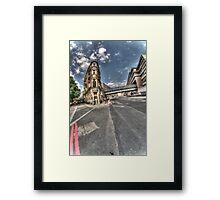 Victoria Embankment. v2 Framed Print