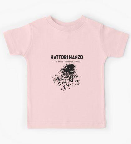 Hattori Hanzo - The man from Okinawa Kids Tee