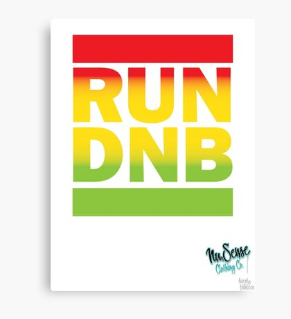RUN DNB Design - Fade Canvas Print