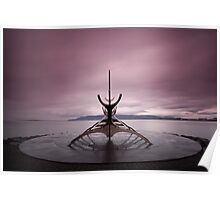 Iceland: Sun Voyager Poster