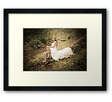Trash the Dress 1 Framed Print