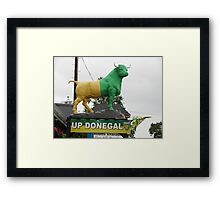 Up Donegal For GAA Finals in September 2012 Framed Print