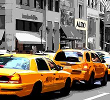 New York Taxi by Anthony Palmer-Greene