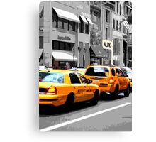 New York Taxi Canvas Print