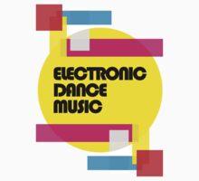 Electronic Dance Music (colorship) Kids Clothes