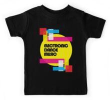 Electronic Dance Music (colorship) Kids Tee