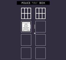 TARDIS Front Unisex T-Shirt