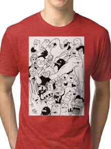 George Clarke - Characters Aug15 Tri-blend T-Shirt