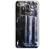Waterfall, Blue Mountains, Australia iPhone Case/Skin