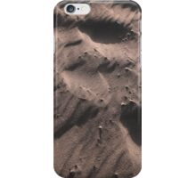 a beach has its own system of forms, materials and processes iPhone Case/Skin