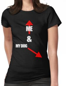Me & My dog Womens Fitted T-Shirt
