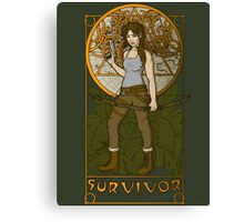 Survivor. Canvas Print